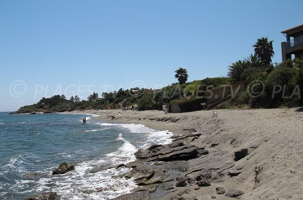 Spiaggia di Bravone a Linguizzetta - Corsica
