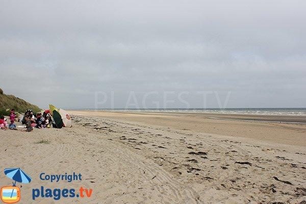 Dunes de la plage de la Brèche - Audouville la Hubert