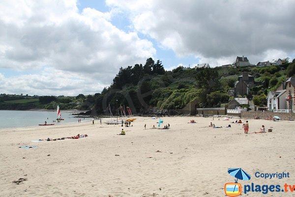 Beach in Bréhec in Plouha - Brittany