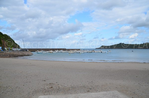 Bréhec beach in Plouha in Brittany