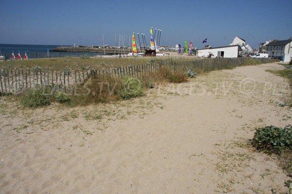 Sailing center and port of La Turballe