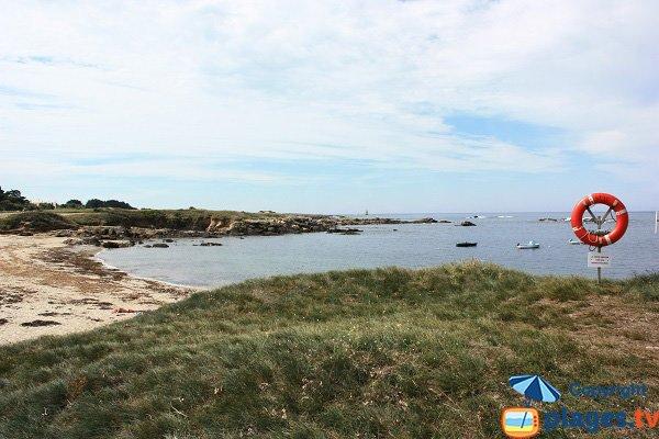 Plage au nord-ouest de l'ile d'Yeu - Les Broches