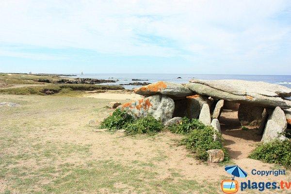 Dolmen planche à Puare - Ile d'Yeu