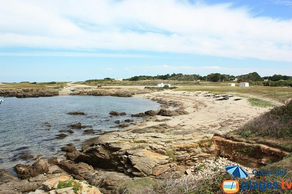 Photo of Broches beach in Ie d'Yeu in France