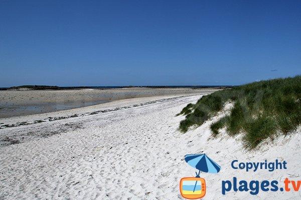 Photo de la plage de Brouennou à Landéda