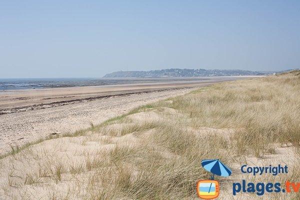 Photo de la plage des Bungalows à St Jean de la Rivière - Manche