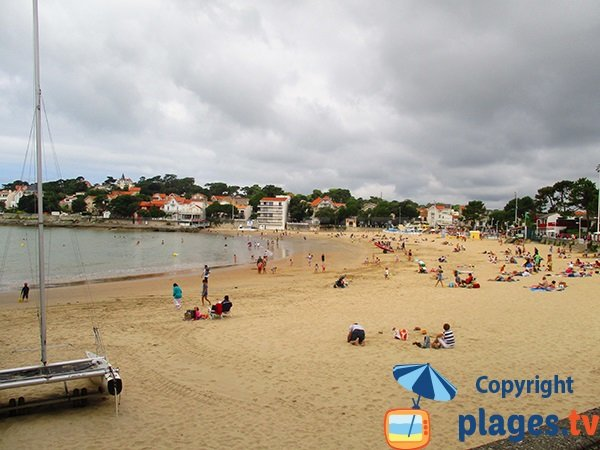 Photo de la plage du Bureau à Saint Palais sur Mer