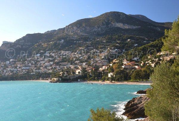 Photo des plages de la buse et du Golfe Bleu - Roquebrune Cap Martin