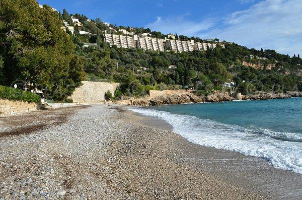Plage du Buse à Roquebrune Cap Martin