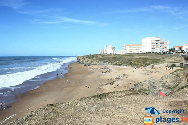 Photo of Bussoleries beach in Saint Hilaire de Riez - France