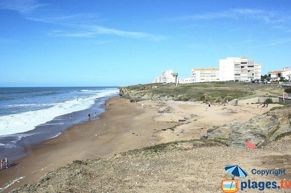 Photo of Bussoleries beach in Saint Hilaire de Riez - France