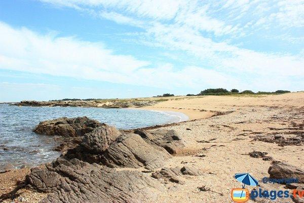 But beach in Ile d'Yeu
