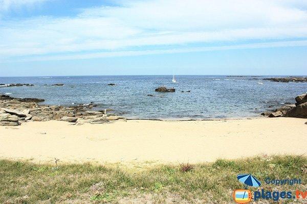 Photo de la plage du But sur l'ile d'Yeu