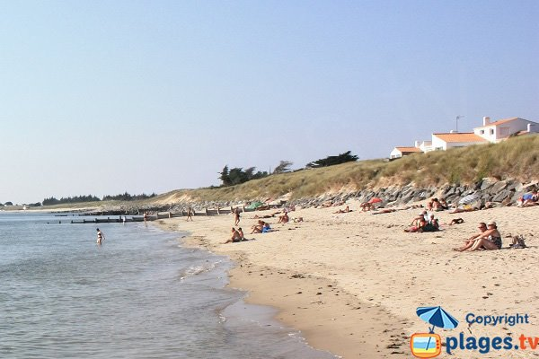Photo of Cabane beach in Noirmoutier - L'Epine
