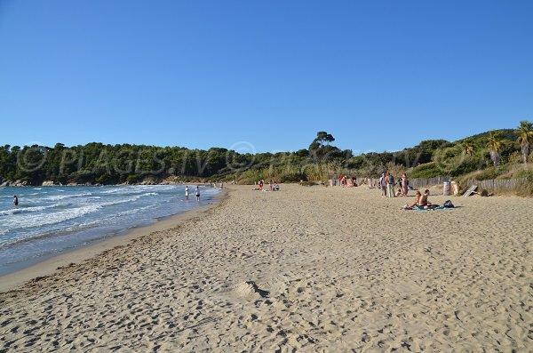Photo de la plage de Cabasson à Bormes les Mimosas