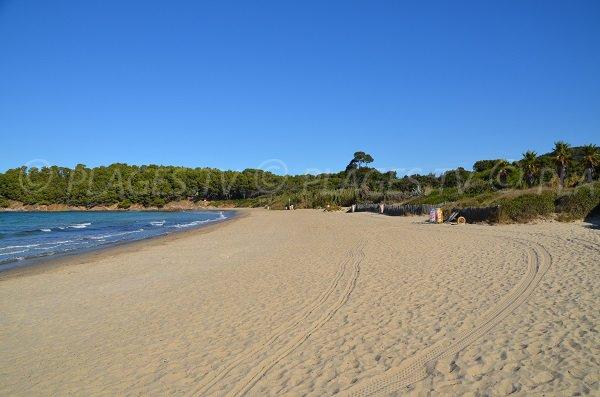 Cabasson beach in Bormes les Mimosas - France