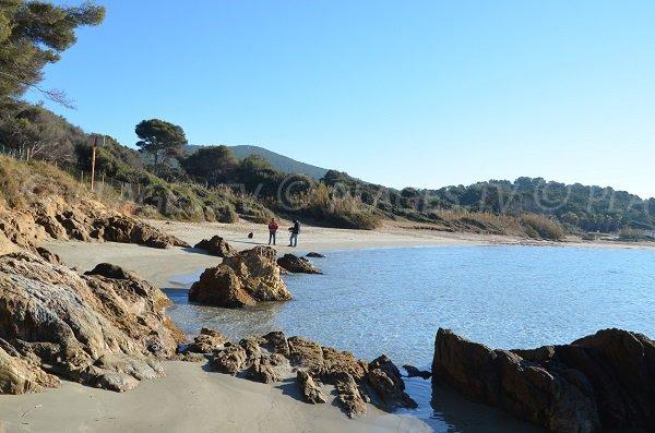 Spiaggia di Cabasson - sentiero del litorale