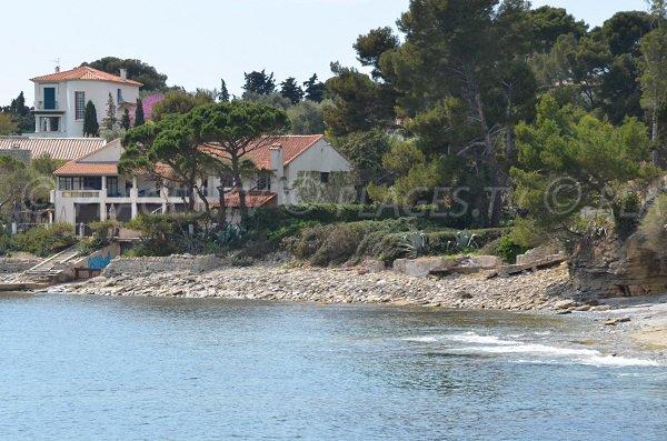 Plage des Cailloux Plats à Saint Cyr sur Mer