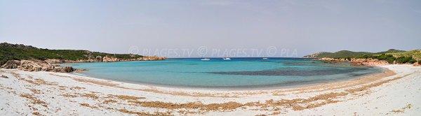 Plage principale de Cala Barbaria à Sartène