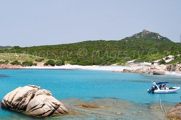 Photo of Argent beach in Sartène