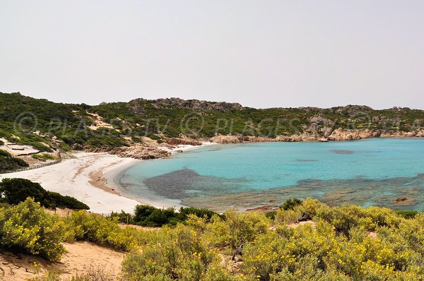 Photo de la plage de Cala Barbaria à Sartène
