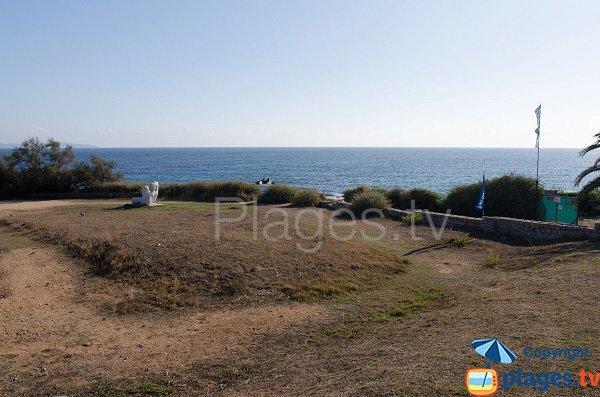 Repère pour la plage de Cala di Sole
