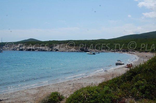 Plage secrète sur le Cap Corse - Cala Francese