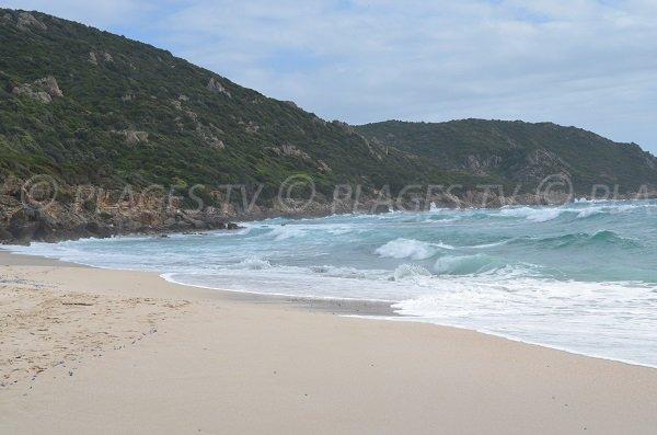 Capo Nero avec sa plage de sable - Corse