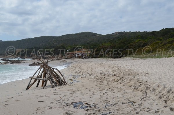 Cala d'Orzo beach in Corsica - Coti Chiavari
