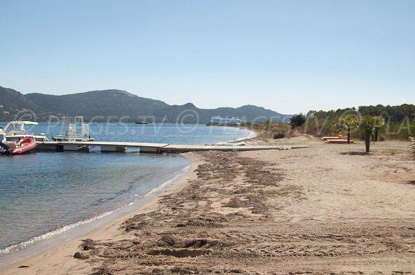 Spiaggia di Cala Verde a Porto Vecchio - Corsica