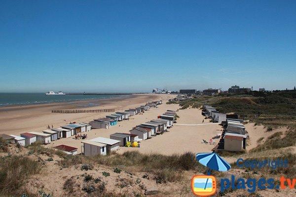 Photo of the Calais beach in France