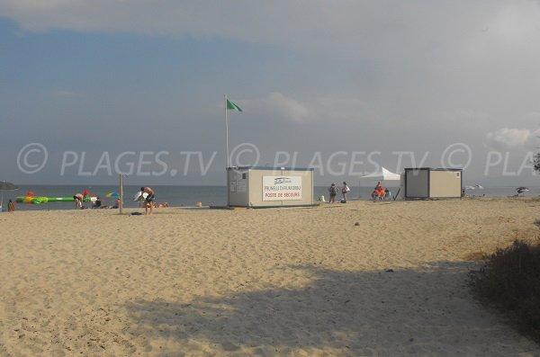 Poste de secours de la plage de Calzarellu - Prunelli
