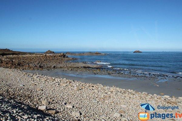 Photo des plages autour de la pointe de Primel à Plougasnou