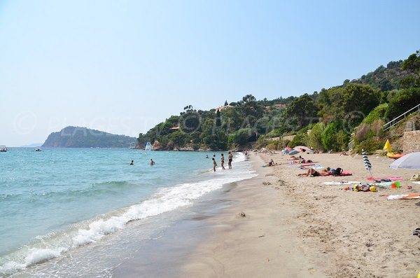 public beach in Rayol-Canadel - Le Canadel