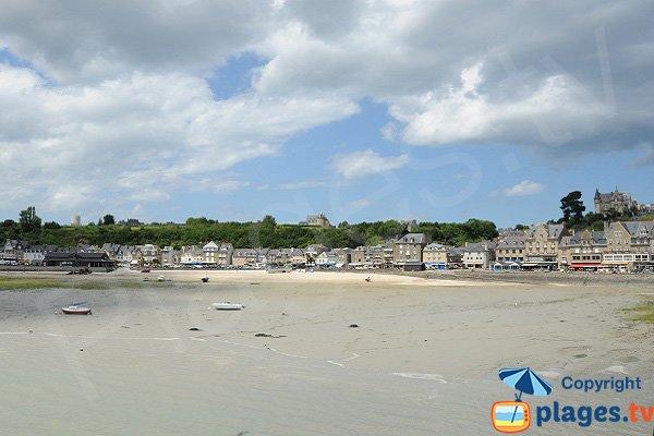 Plage de Cancale - Port de la Houle