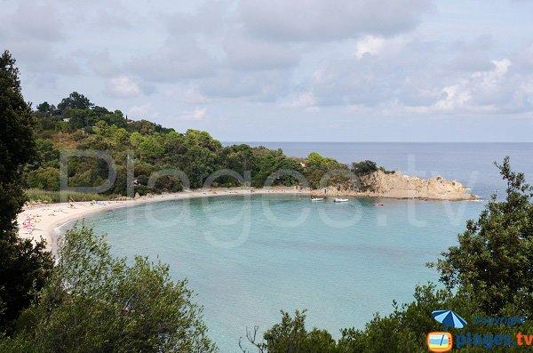 Photo de la plage de Canella à Solenzara