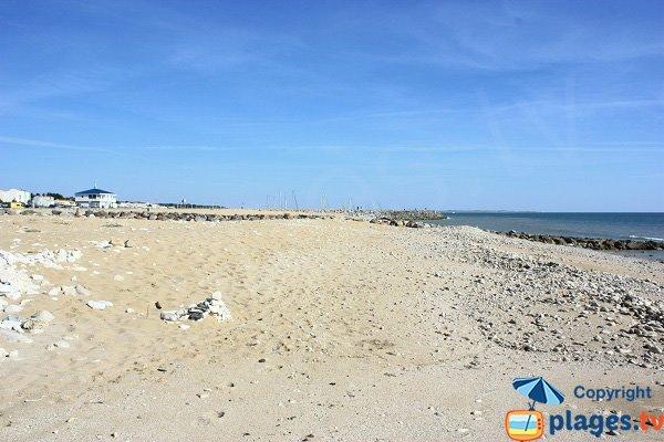 Photo de la plage du Pé du Canon à Jard sur Mer