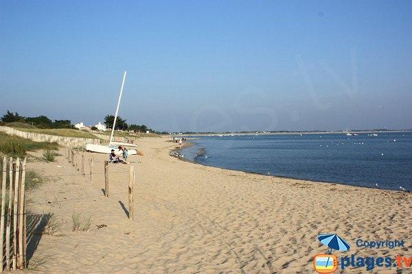 Cantine beach in La Guérinière - Noirmoutier