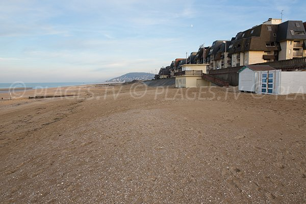 Photo of the Cap Cabourg beach in France