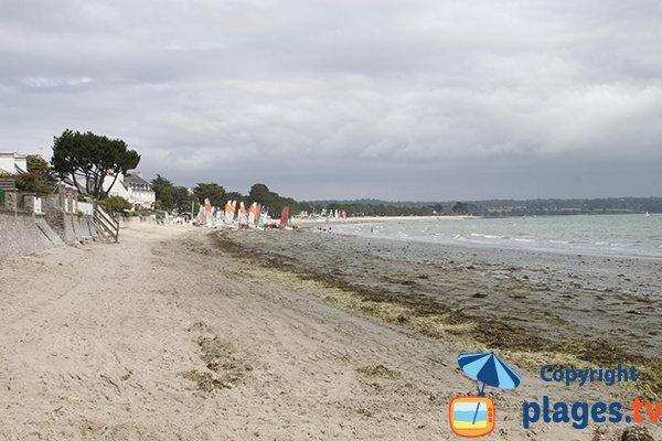 Plage du Cap Coz à Fouesnant - Finistère