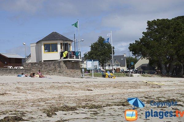 Poste de secours de la plage du Cap Coz - Fouesnant