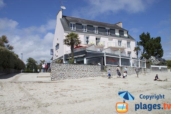 Restaurant au bord de la plage du Cap Coz - Fouesnant