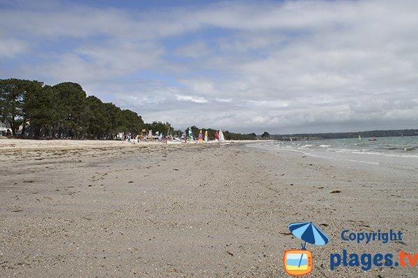 Photo de la plage du Cap Coz à Fouesnant - Bretagne