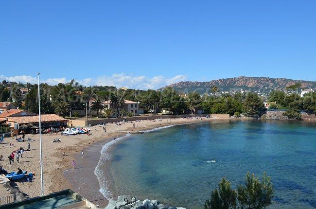 Spiaggia del Cap Dramont - France