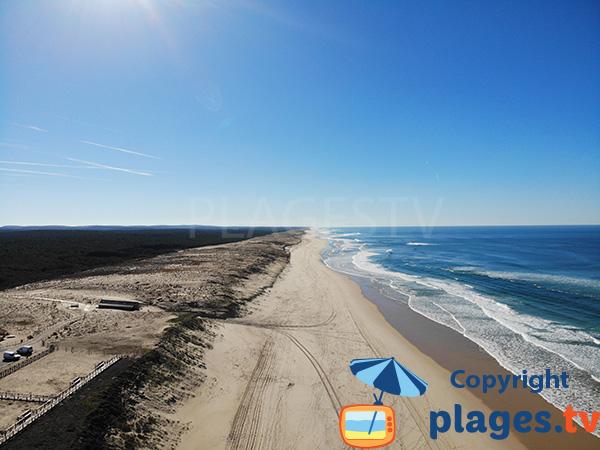 Photo de la plage du Cap Homy à Lit et Mixe