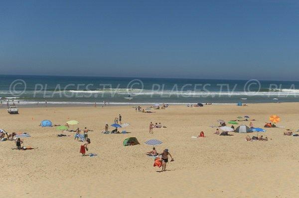 Photo de la plage de Lit et Mixe dans le 40