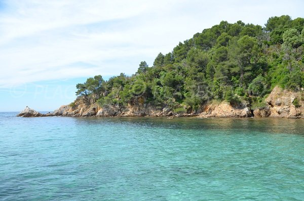 Cape Leoube in Bormes les Mimosas in France