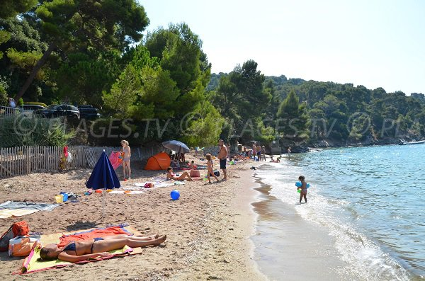 Cape Negre beach nearly Cavaliere beach - Lavandou