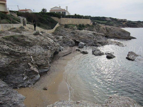 Spiaggia selvaggia a Six Fours les Plages