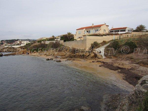 Spiaggia Cap Nègre a Six Fours les Plages - Francia